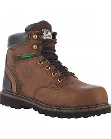 Georgia Brookville Waterproof  Work Boots - Steel Toe