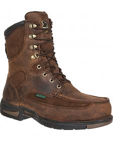 Georgia Athens Waterproof Work Boots - Round Toe
