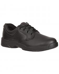 Rocky Women's SlipStop Plain Toe Oxford Duty Shoes