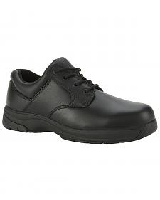 Rocky Slipstop Oxford Work Shoe - Plain Toe