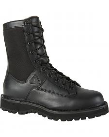 Rocky Portland Waterproof Lace-To-Toe Duty Boots - Round Toe