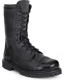 Rocky Waterproof Zipper Jump Boots - Round Toe