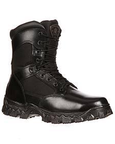 Rocky Men's Alphaforce Waterproof Zipper Composite Toe Duty Boots