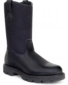 Rocky Pull On Wellington Boots - Round Toe