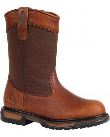 Rocky Ironclad Waterproof Wellington Boots - Safety Toe