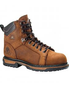 Rocky Ironclad Waterproof Work Boots - Safety Toe