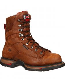 Rocky Long Range Waterproof Work Boots - Aluminum Toe