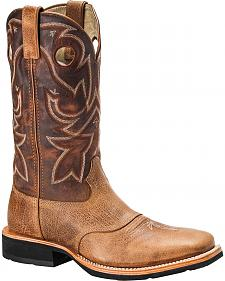 Rocky Dually Crepe EX4 Western Work Boots - Square Toe