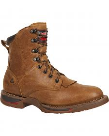 Rocky Long Range Lacer Boots - Round Toe