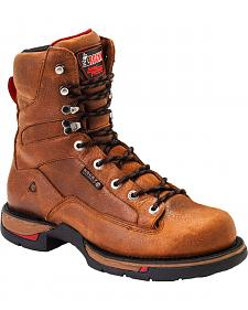 Rocky Long Range Waterproof Work Boots - Round Toe