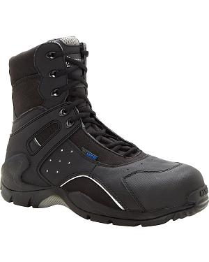 Rocky 1st Med Puncture-Resistant Side-Zip Waterproof Boots - Safety Toe