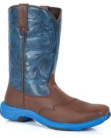 Durango Rebel Lite Western Boots - Square Toe
