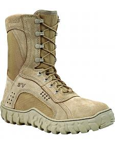 Rocky S2V Tactical Military Boots - Steel Toe
