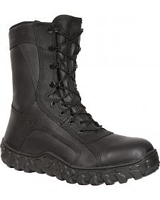 Rocky Men's S2V Flight Ops Steel Toe Tactical Military Boots