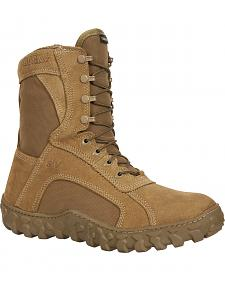Rocky S2V Gore-Tex Waterproof Insulated Military Duty Boots - Round Toe