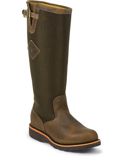 """Chippewa 17"""" Snake Boots Western & Country 23907"""