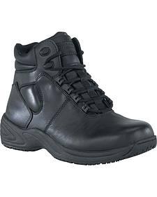 """Grabbers Men's Fastener 6"""" Sport Work Boots"""