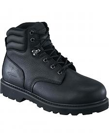 "Knapp Men's Backhoe 6"" Work Boots - Steel Toe"