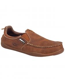 Georgia Cedar Falls Moc-Toe Slip-On Shoes
