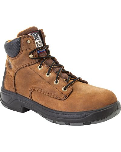 """Georgia Flxpoint Waterproof 6"""" Work Boots Safety Toe Western & Country G6644"""