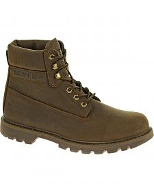 "Caterpillar Watershed Waterproof 6"" Lace-Up Work Boots"