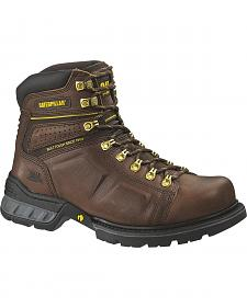 "Caterpillar Endure 6"" Work Boots - Steel Toe"