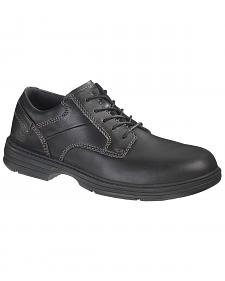 Caterpillar Oversee Oxford Work Shoes - Steel Toe