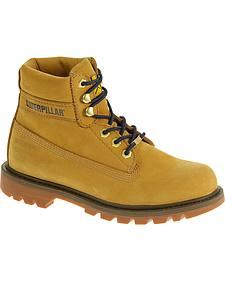 "Caterpillar Women's Watershed Waterproof 6"" Work Boots"
