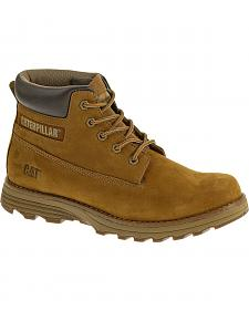 Caterpillar Men's Founder Boston Lace Up Work Boots