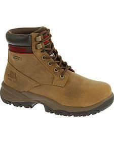 "Caterpillar Women's Dryverse 6"" Waterproof Work Boots - Steel Toe"