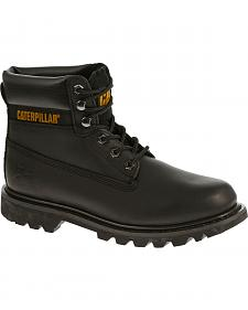 "Caterpillar Colorado 6"" Lace-Up Work Boots - Round Toe"