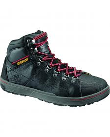 "Caterpillar Brode 5"" Work Boots - Steel Toe"