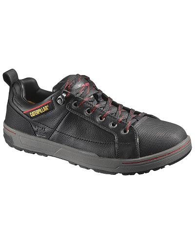 Caterpillar Brode Oxford Work Shoes Steel Toe Western & Country P90192