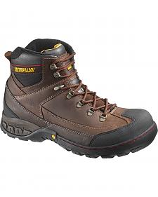 "Caterpillar Dynamite 5"" Waterproof Work Boots - Steel Toe"