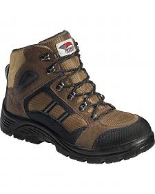 Avenger Men's Electrical Hazard Hiking Boots - Steel Toe
