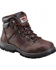 Avenger Men's Waterproof Lace-Up Work Boots - Steel Toe