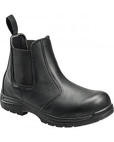 Avenger Men's Anti-Slip Uniform Work Boots - Composition Toe