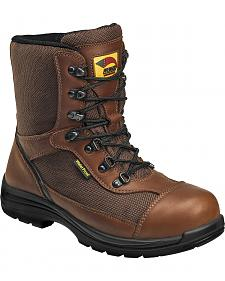 Avenger Boots Men's Composite Toe Waterproof Insulated Work Boots