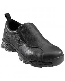 Nautilus Men's Black ESD Slip-On Work Shoes - Steel Toe