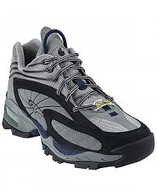 Nautilus Men's Grey SD Athletic Steel Toe Work Shoes - Extra Wide