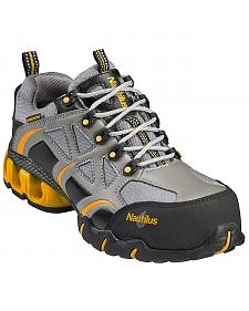 Nautilus Men's Nylon Microfiber Athletic Work Shoes - Composition Toe