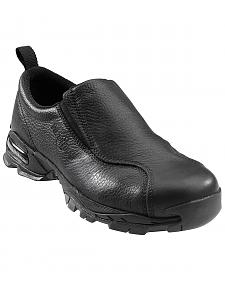 Nautilus Men's Black ESD Slip-On Work Shoes