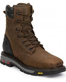 Justin JOW Men's Commander X5 Work Boots - Steel Toe