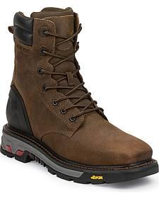 Justin JOW Men's Commander X5 Work Boots - Steel Toe