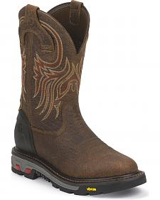 Justin Original Workboots Commander X5 Workboots -  Round Toe