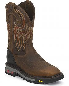 Justin Original Workboots Commander X5 Workboots -  Square Toe
