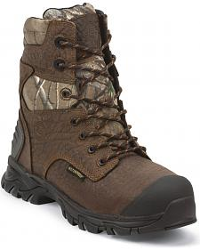 Justin Men's Work Tek Outdoor Insulated Boots - Round Toe