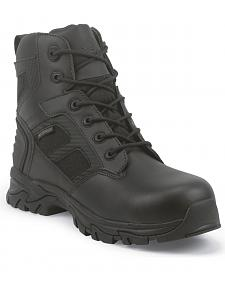 Justin JOW Men's Work Tek Assault Waterproof Work Boots