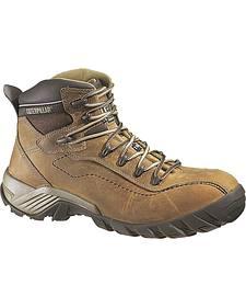 Caterpillar Men's Nitrogen Composite Toe Work Boots