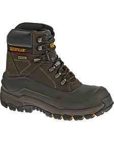 Caterpillar Men's Flexshell Waterproof Work Boots - Steel Toe